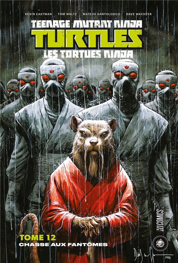 Les Tortues Ninja - TMNT T.12 ; chasse aux fantômes