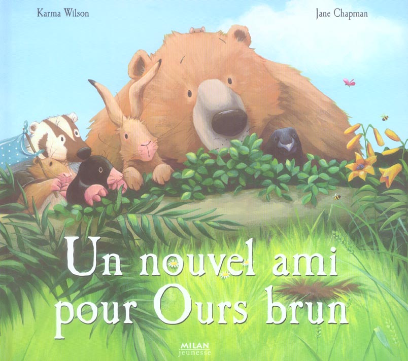 Nouvel ami pour ours brun (un)