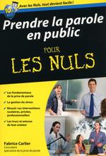 Vente Livre Numérique : Prendre la parole en public  - Fabrice CARLIER