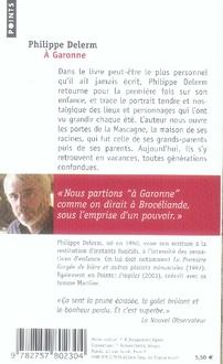 à Garonne