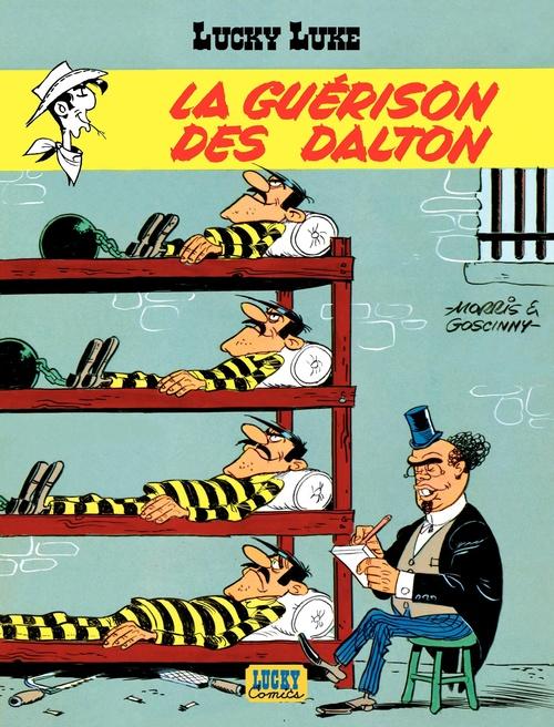 Lucky Luke - tome 12 - La Guérison des Dalton