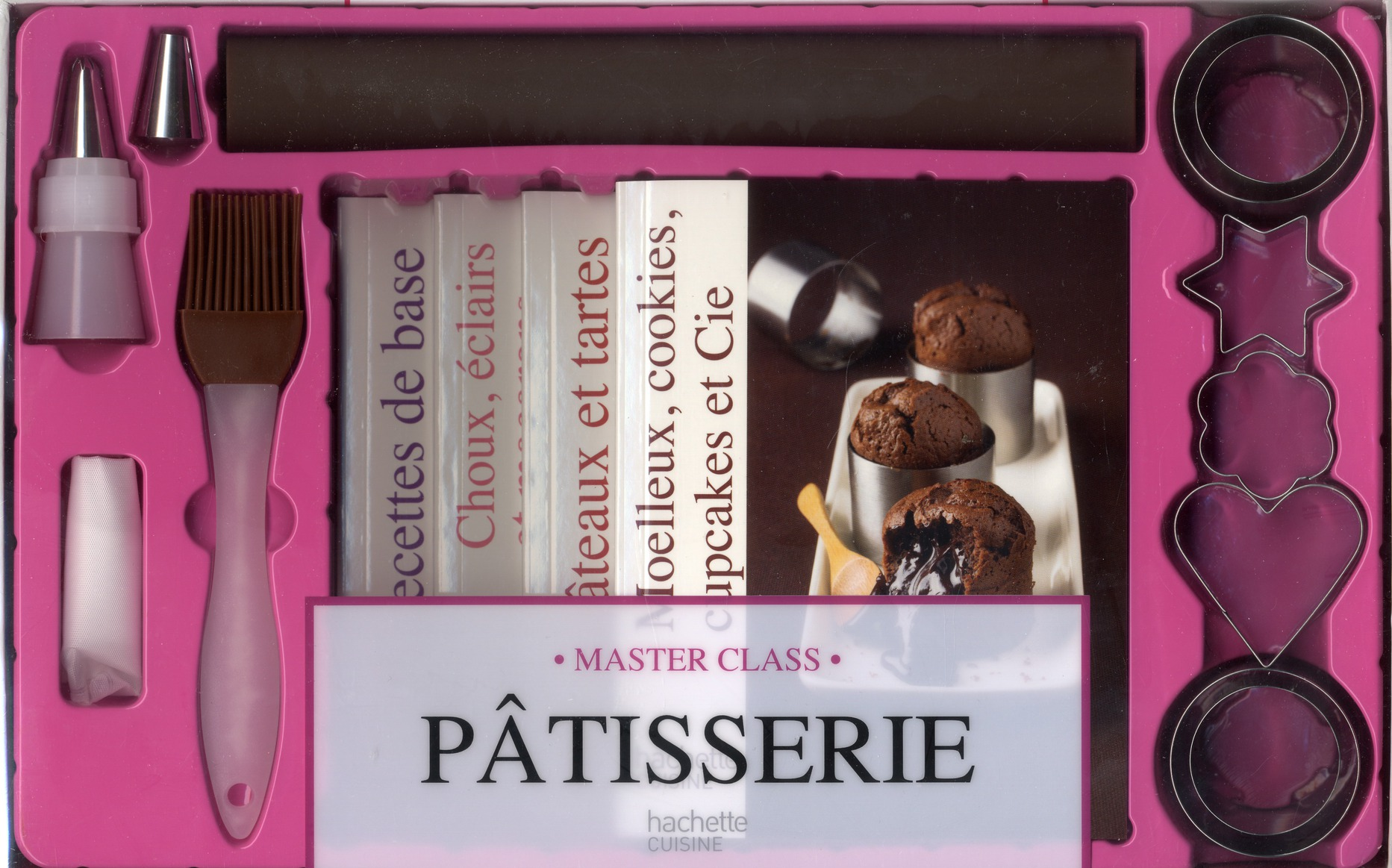 Pâtisserie ; coffret master class