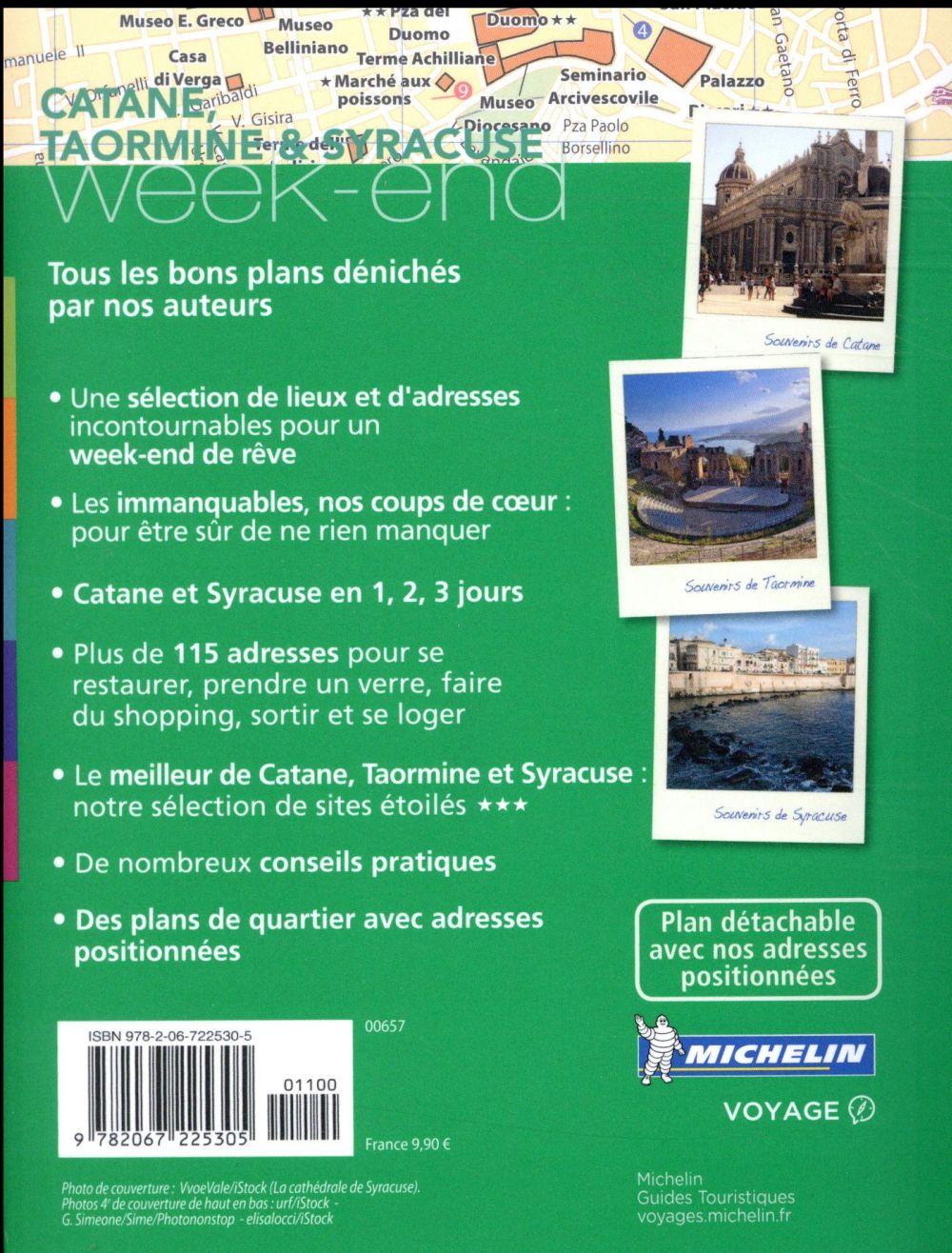 le guide vert week-end ; Catane, Taormine & Syracuse (édition 2017)