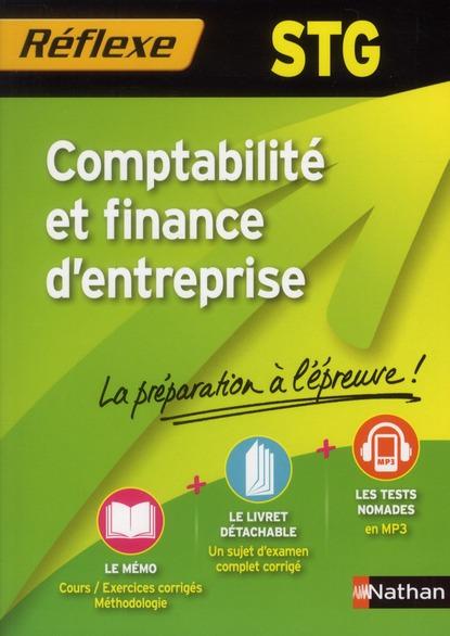 Memos Reflexes T.92; Comptabilite Et Finance D'Entreprise ; Terminale Stg