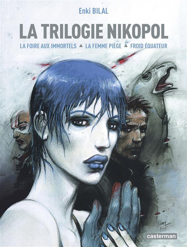 LA TRILOGIE NIKOPOL - LA FOIRE AUX IMMORTELS, LA FEMME PIEGE, FROID EQUATEUR BILAL ENKI