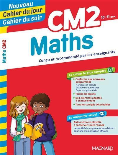 CAHIERS DU JOUR SOIR  -  MATHEMATIQUES  -  CM2