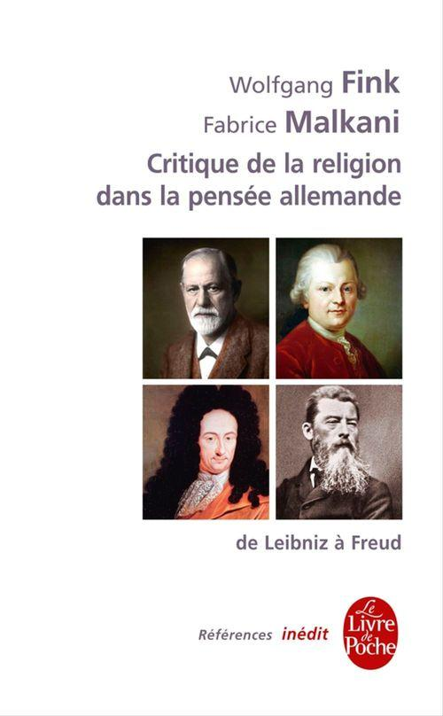 Critique de la religion dans la pensée allemande du XVIIIe au XXe siècles