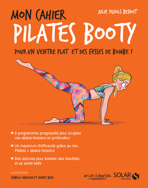 Mon cahier Pilates booty