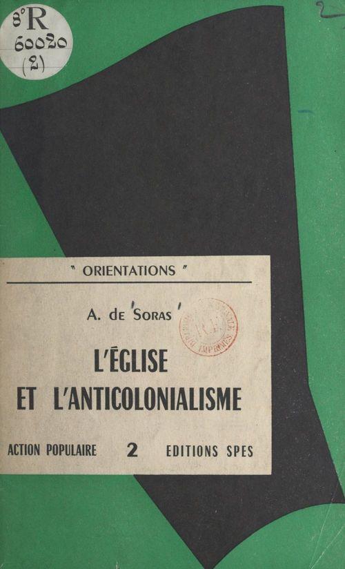 L'Église et l'anticolonialisme