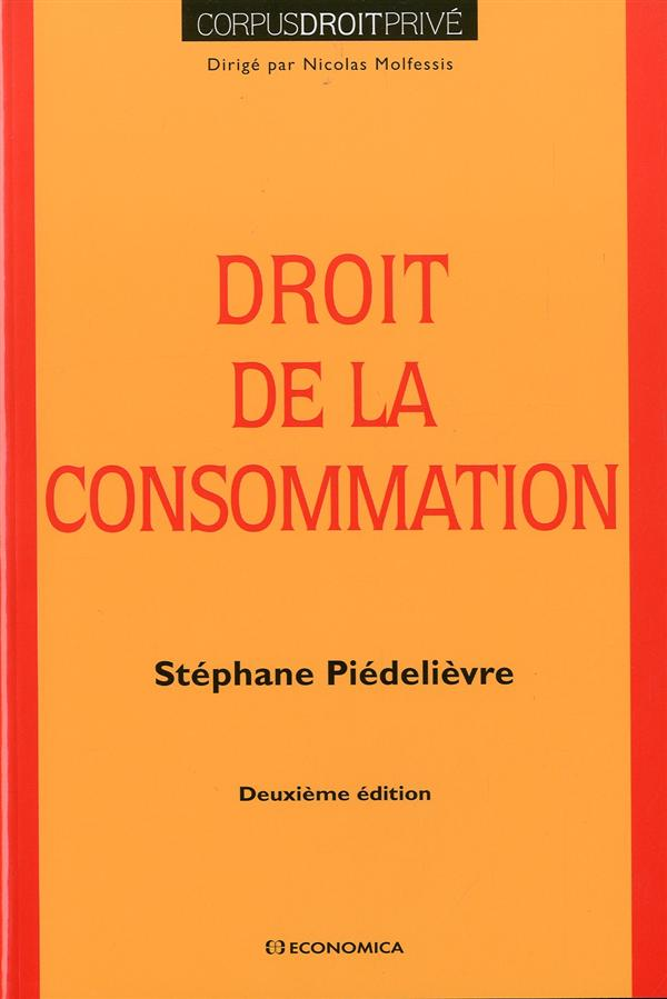 Droit de la consommation, 2e edition