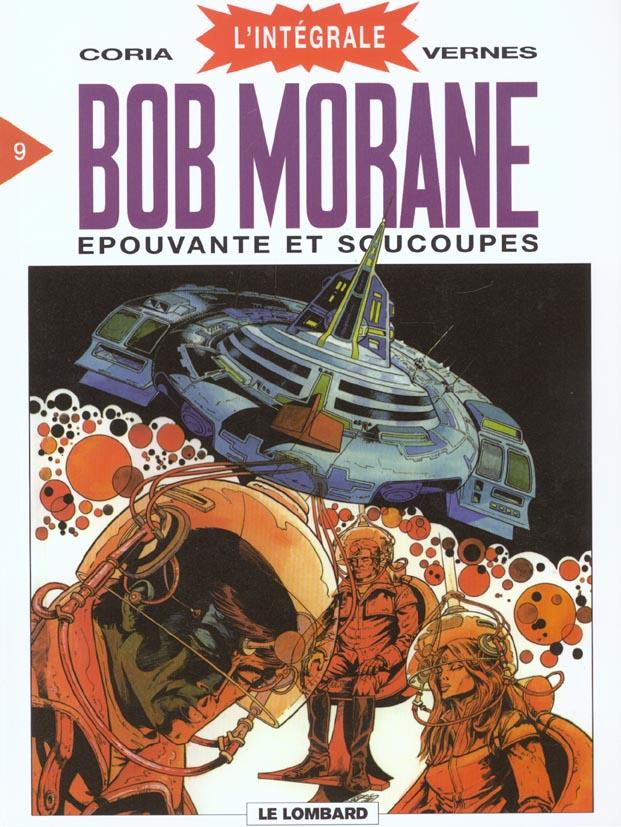 Integrale Bob Morane Lombard T.9 ; Epouvante Et Soucoupes
