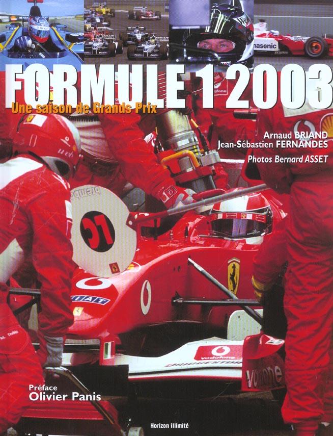Formule 1 2003 - une saison de grands prix