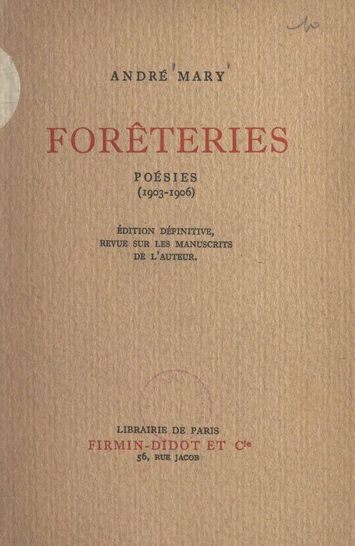 Forêteries