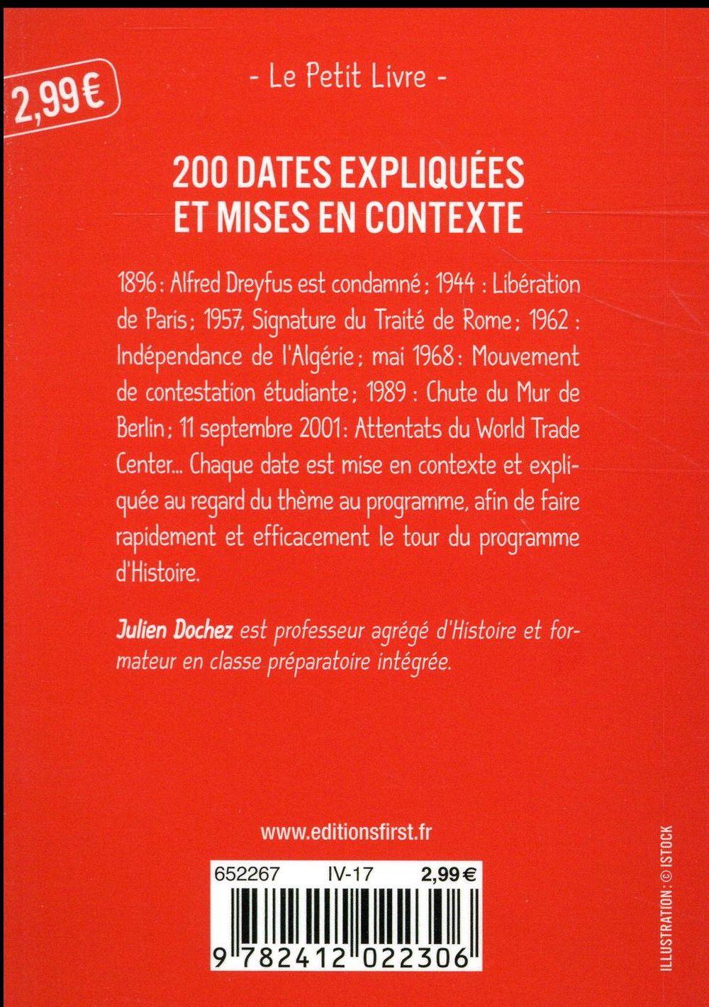 200 dates pour le bac histoire