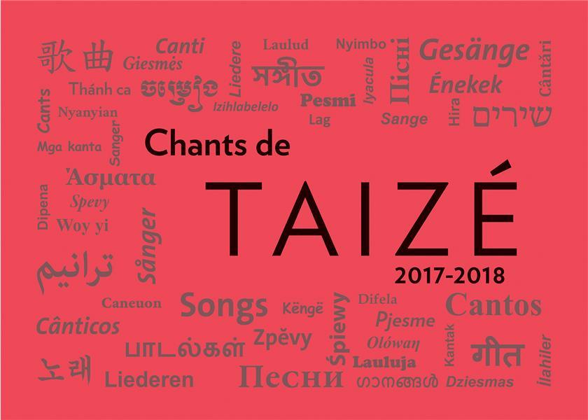 Chants de taizé (édition 2019/2020)