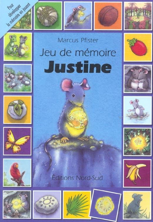 Jeu De Memoire Justine