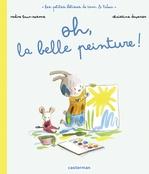 Vente Livre Numérique : Les bêtises de Tam et Tidou (Tome 2) - Oh, la belle peinture !  - Nadine Brun-Cosme