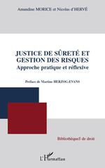 Vente Livre Numérique : Justice de sûreté et gestion des risques  - Amandine Morice - Nicolas d'Hervé