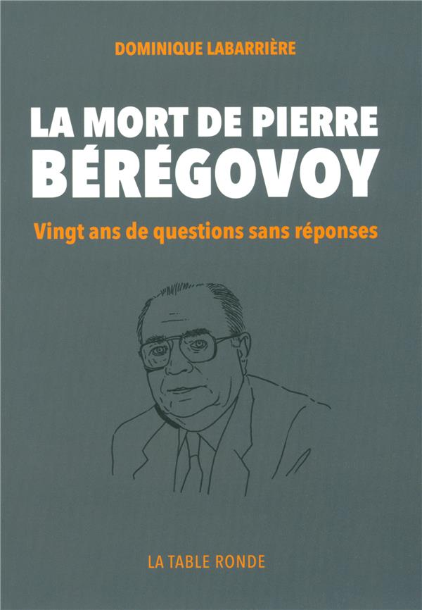 la mort de Pierre Beregovoy ; vingt ans de questions sans réponse