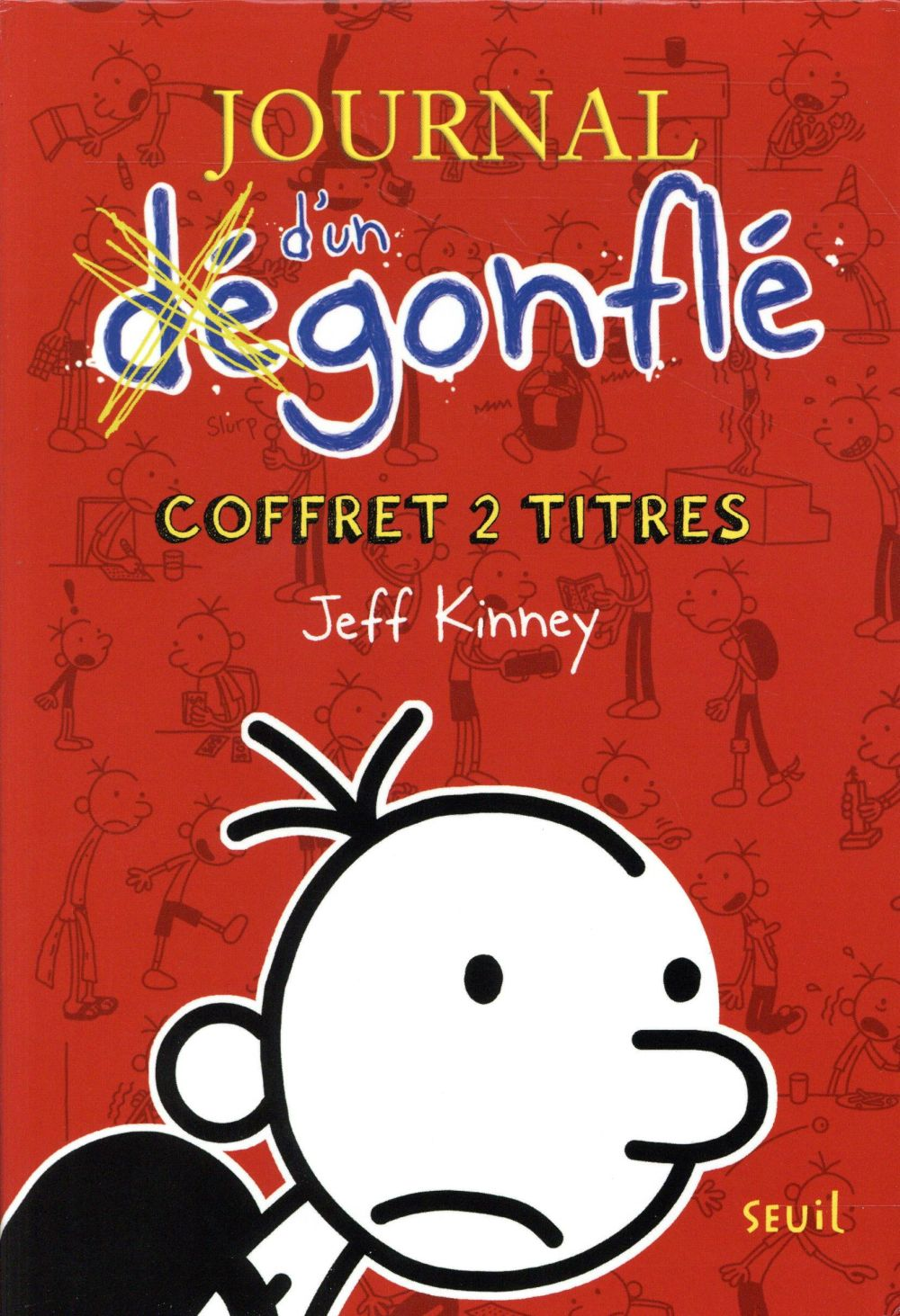 Journal D'Un Degonfle, Le Coffret ; T.1 Et 2