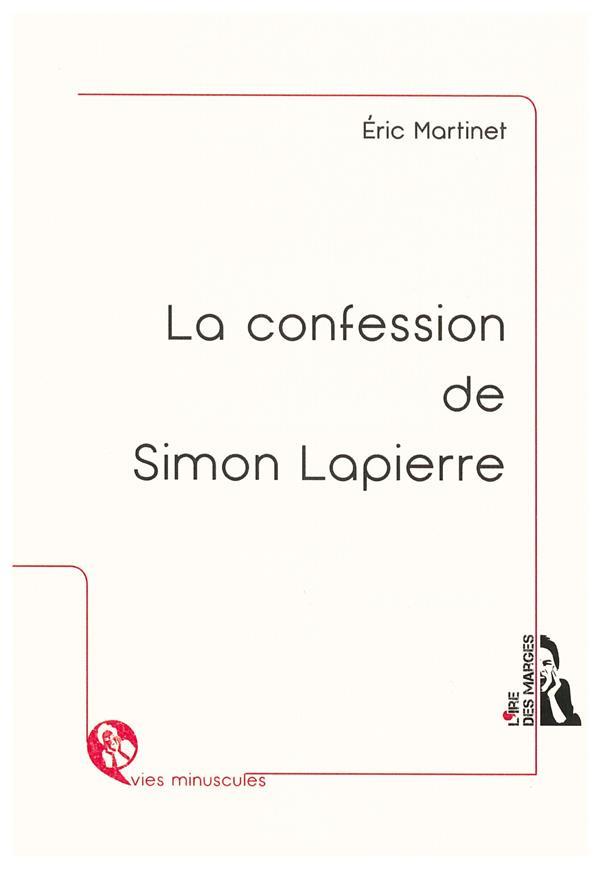 La confession de Simon Lapierre