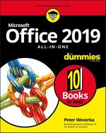 Office 2019 All-in-One For Dummies  - Peter WEVERKA