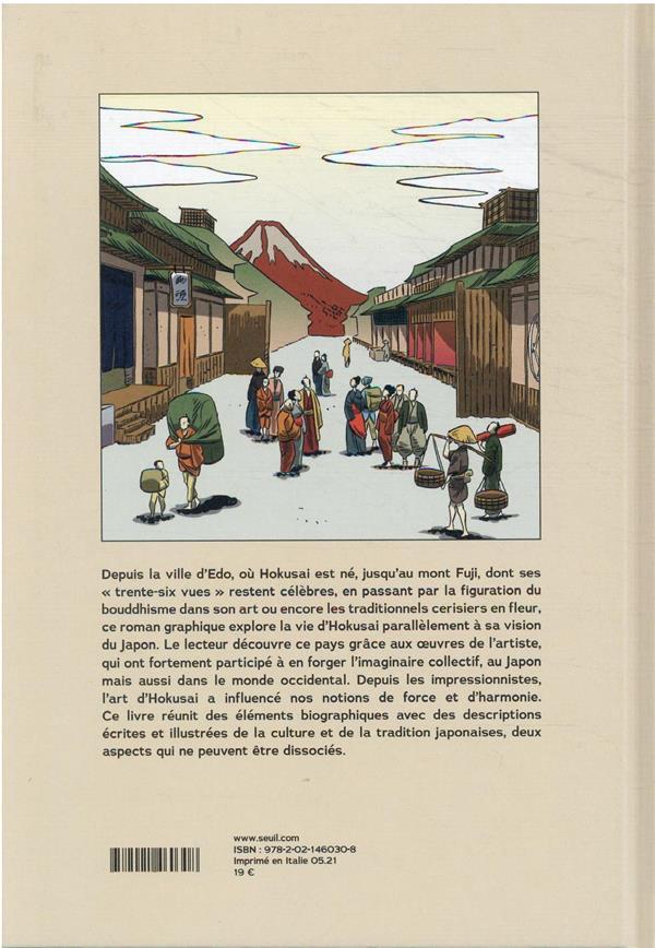 Hokusai ; à la découverte du Japon