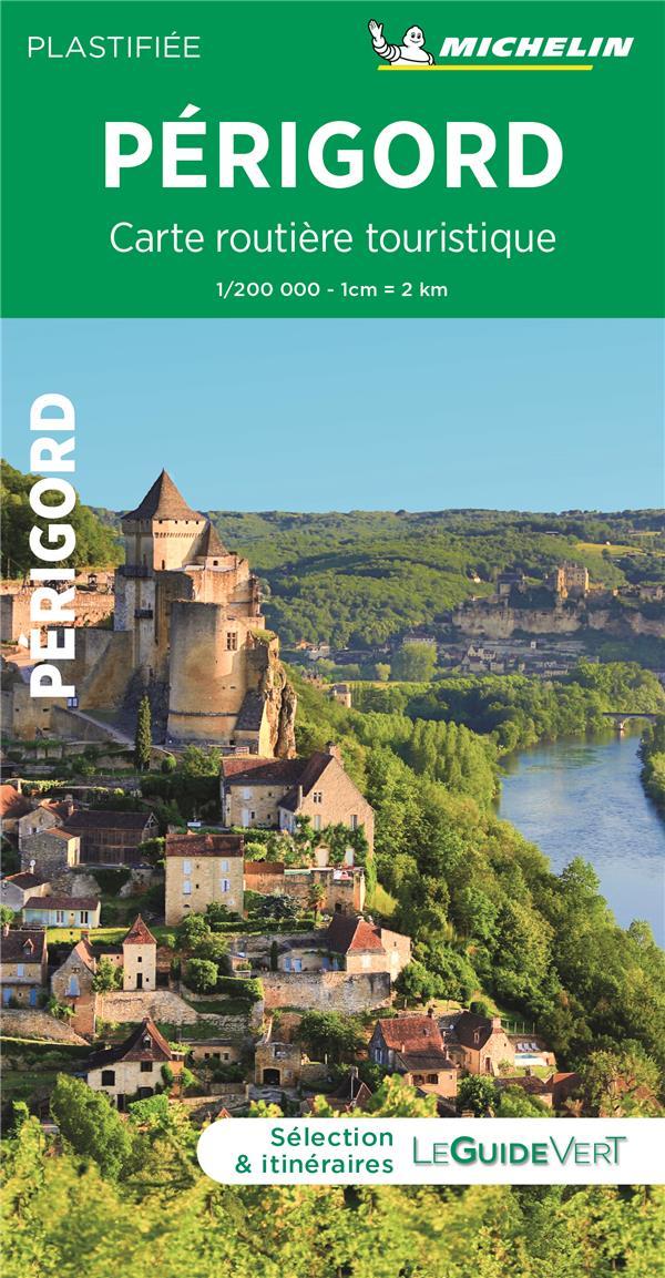 carte routière touristique ; Périgord
