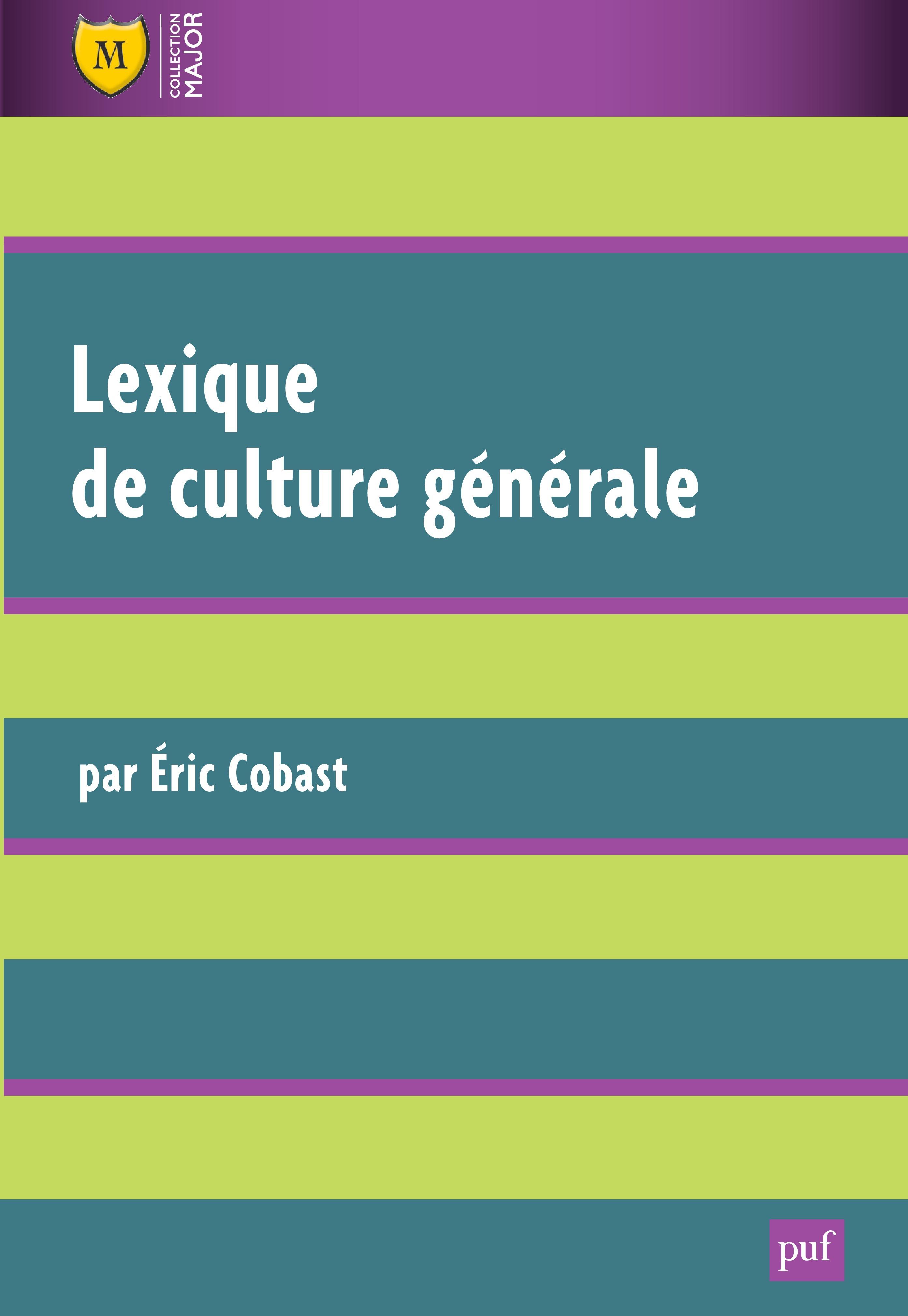 Lexique de culture générale (3e édition)