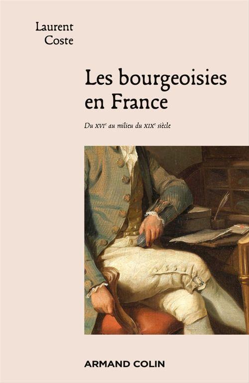 Les bourgeoisies en France ; du XVIe au milieu du XIXe siècle