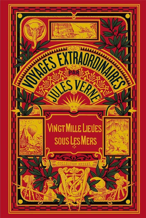 Voyages extraordinaires par Jules Verne ; vingt mille lieues sous les mers