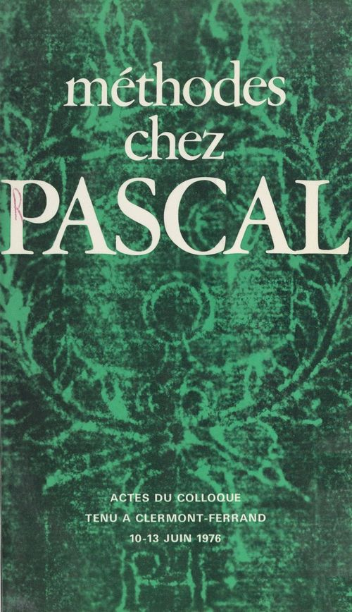 Méthodes chez Pascal