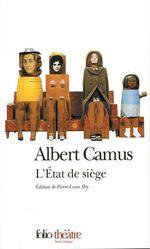 Vente Livre Numérique : L'État de siège. Spectacle en trois parties  - Albert Camus