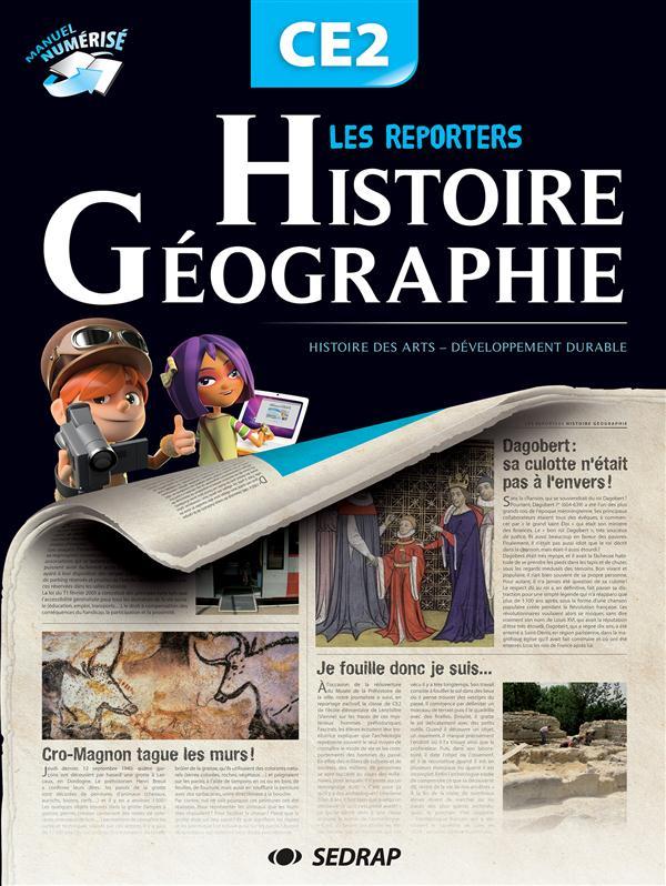 Manuel les reporters histoire/geo ce2