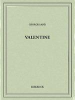 Vente Livre Numérique : Valentine  - George Sand