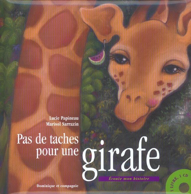 pas de taches pour une girafe