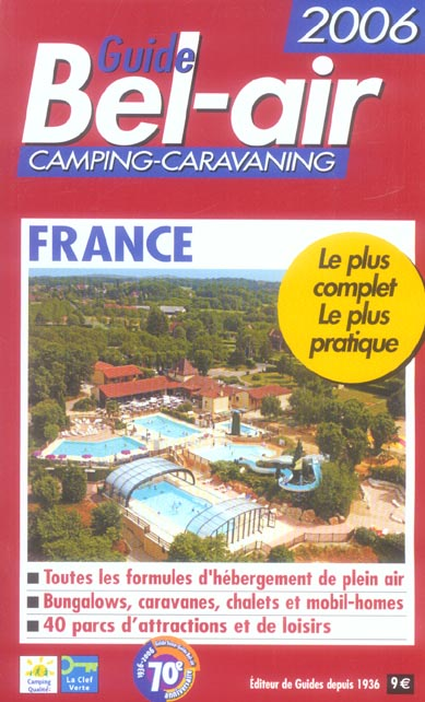 Guide bel air france (edition 2006)