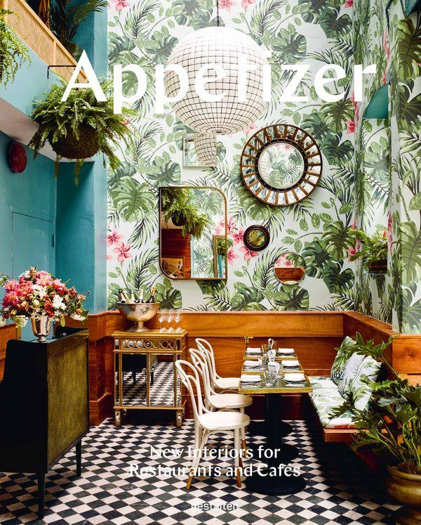 APPETIZER NEW INTERIORS FOR RESTAURANTS AND CAFES ANGLAIS