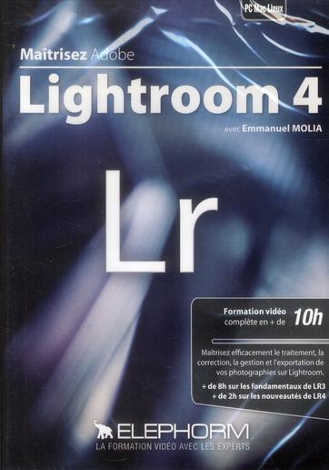 maîtrisez Adobe Lightroom 4