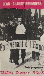 Vente EBooks : En r'venant d'l'Expo  - Jean-Claude Grumberg - Daniel LINDENBERG - Yannis Kokkos