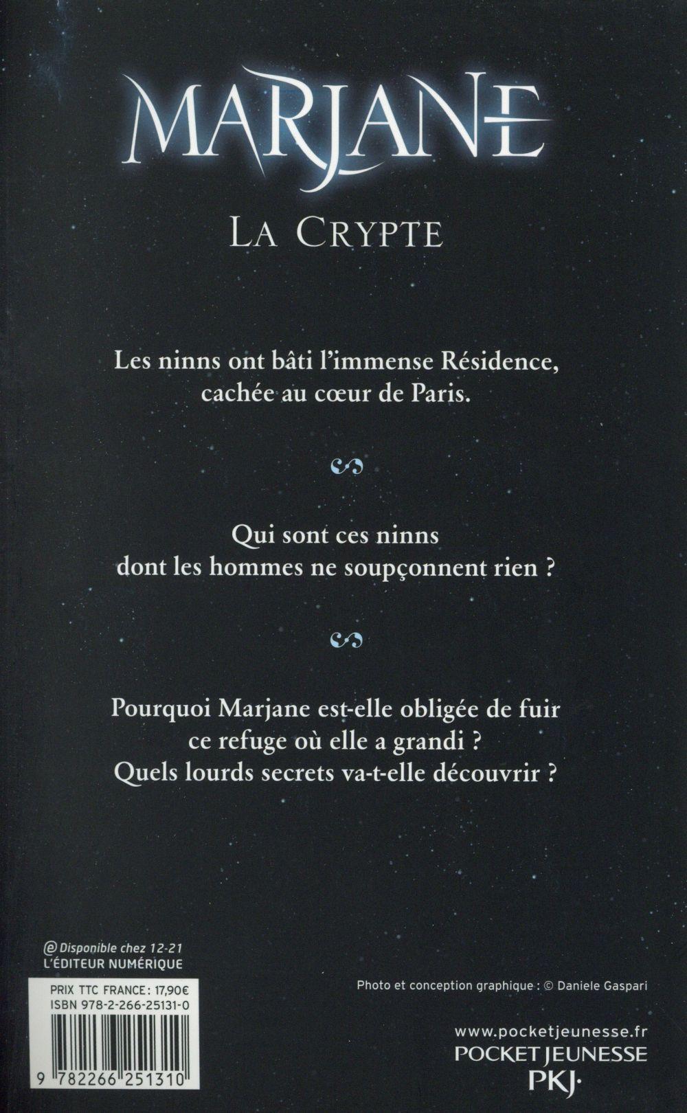 Marjane t.1 ; la crypte