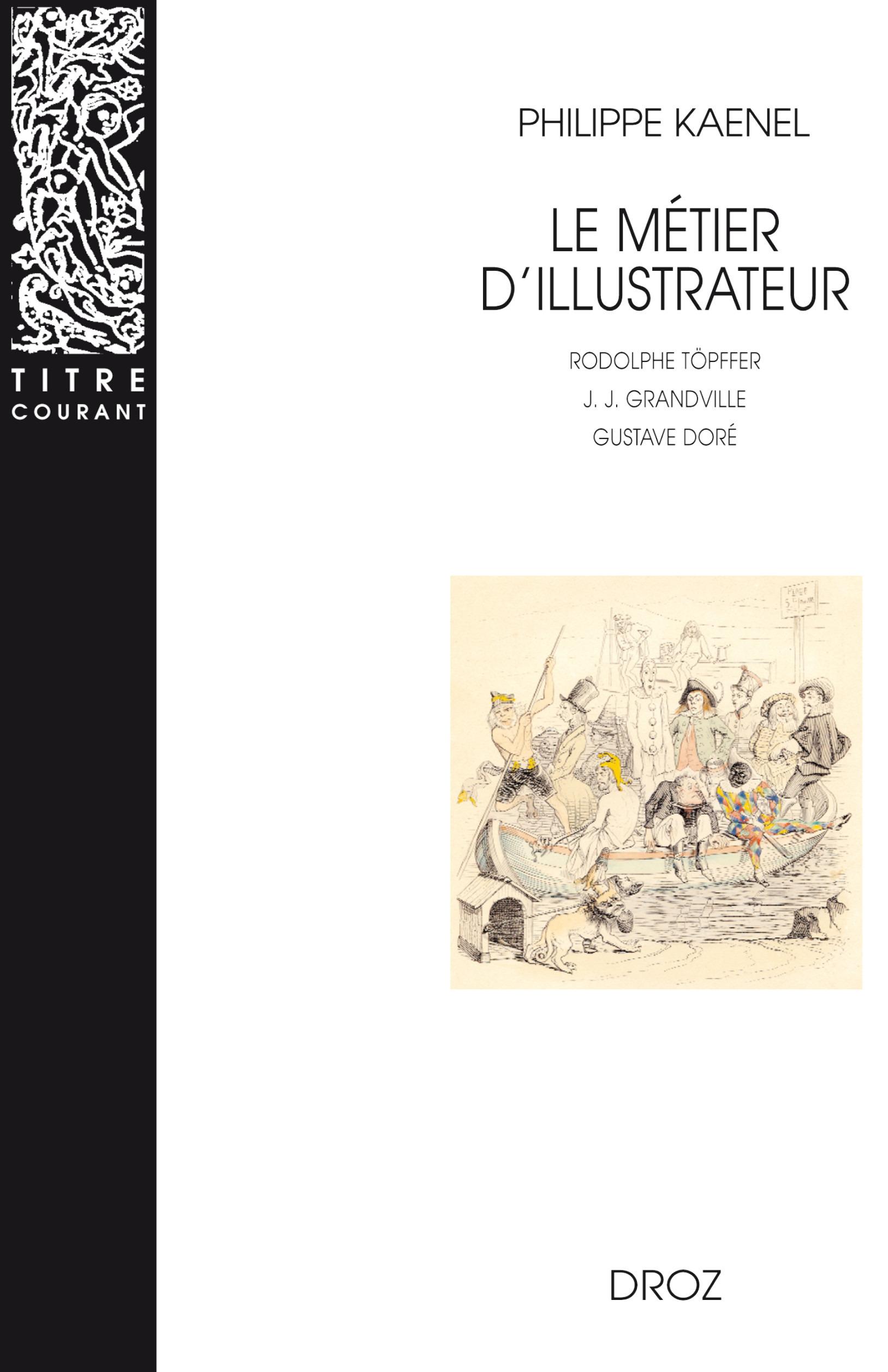 Le metier d'illustrateur (1830-1880) :