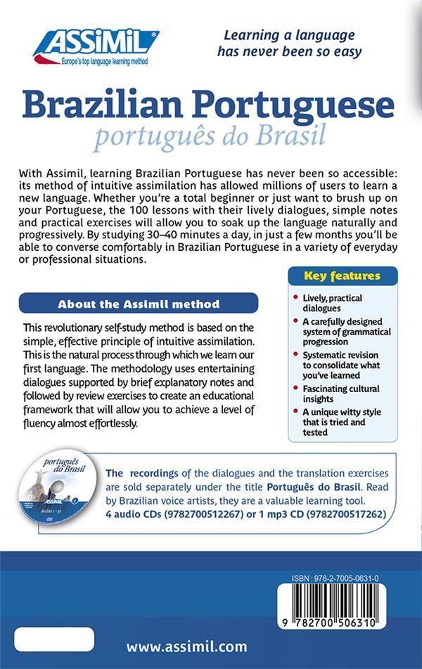 Brazilian Portuguese sans peine