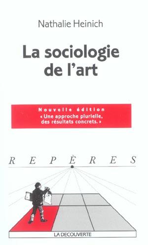 La sociologie de l'art