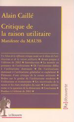 Vente EBooks : Critique de la raison utilitaire  - Alain CAILLÉ