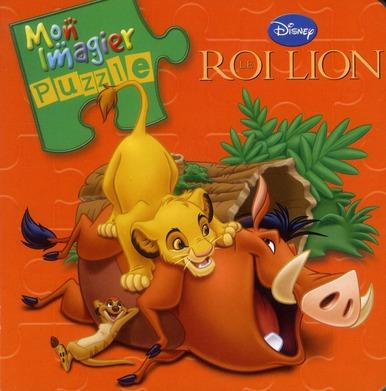 Mon Imagier Puzzle; Le Roi Lion