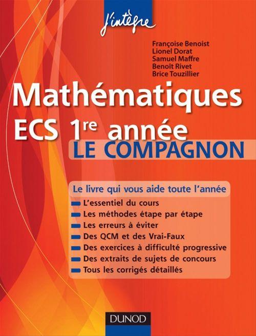 Mathématiques ; ECS 1ère année ; le compagnon