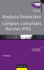 Vente Livre Numérique : Analyse financière des comptes consolidés - 3e éd.  - Michel Sion - Bruno Bachy