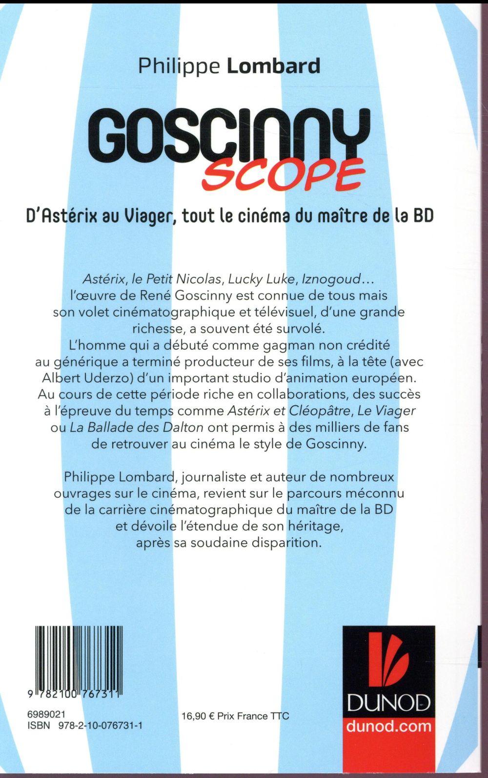 Goscinnyscope ; d'Astérix au Viager, tout le cinéma du maître de la BD