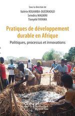 Pratiques de développement durable en Afrique  - Valérie Rouamba-Ouedraogo - Seindira Magnini - Tionyélé Fayama